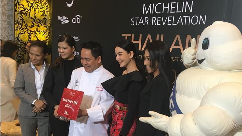 Two traditional Thai restaurants have been awarded two Michelin stars, a first for the country [Stephane Delfour/AFP]