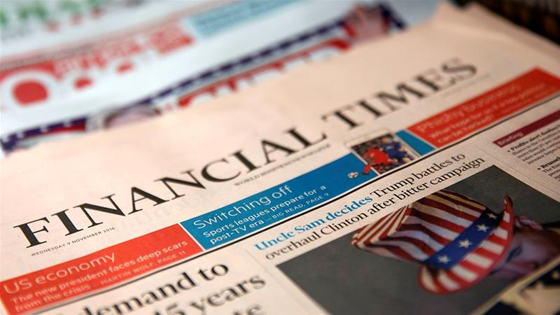 Roula Khalaf becomes first female editor of Financial Times after Barber`s resignation