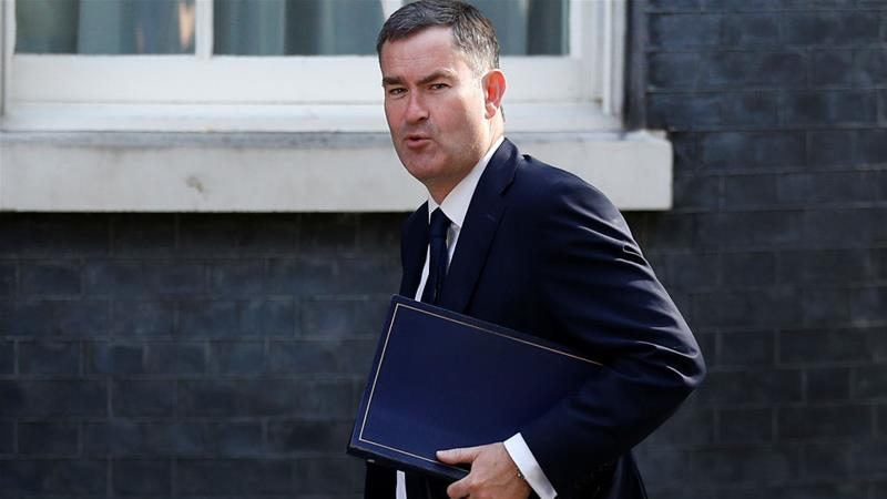 David Gauke is standing as an independent in next month's election [Peter Nicholls/Reuters]