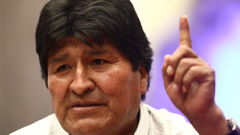 Former Bolivian leader Evo Morales ready to stand aside in new elections