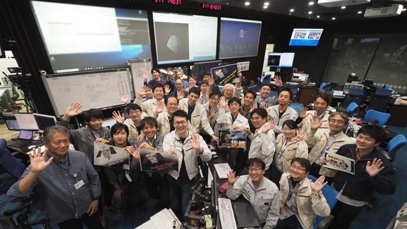 Hayabusa2 leaves asteroid for Earth