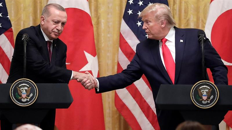 Amid US-Turkey tensions, Trump lauds relationship with Erdogan