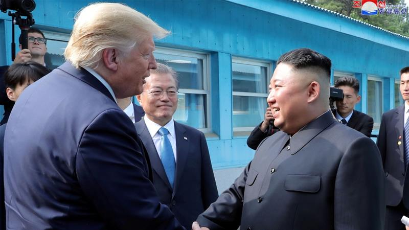 North Korea has been seeking a lifting of punishing sanctions, but US insists Kim Jong Un must dismantle his nuclear weapons programme first [File: Reuters]