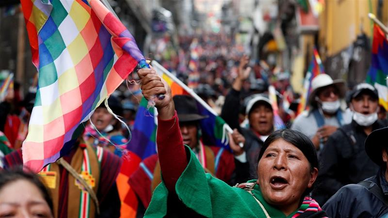 Bolivia Interim Leader Consolidates Power but Faces New Protests