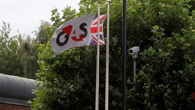G4S, based in Great Britain, provides security guards, alarms, monitoring and the transportation of valuables around the world [Darren Staples/Reuters]