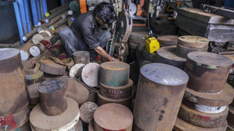 India brought its original complaint to the WTO in April 2012, after the US Department of Commerce set an import duty of nearly 286 percent on a circular welded carbon-quality steel pipe product from India to offset government subsidies [File:Dhiraj Singh/Bloomberg]