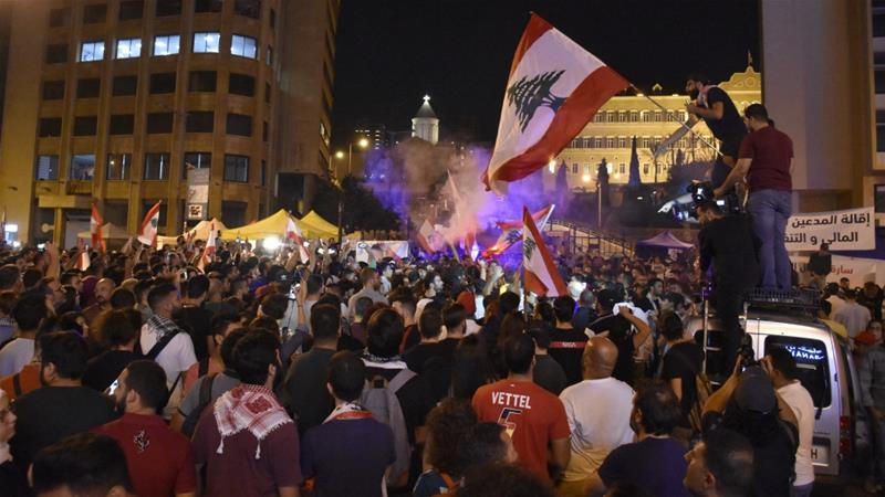 Thousands demonstrate against appointment of former lawmaker as new PM in Lebanon