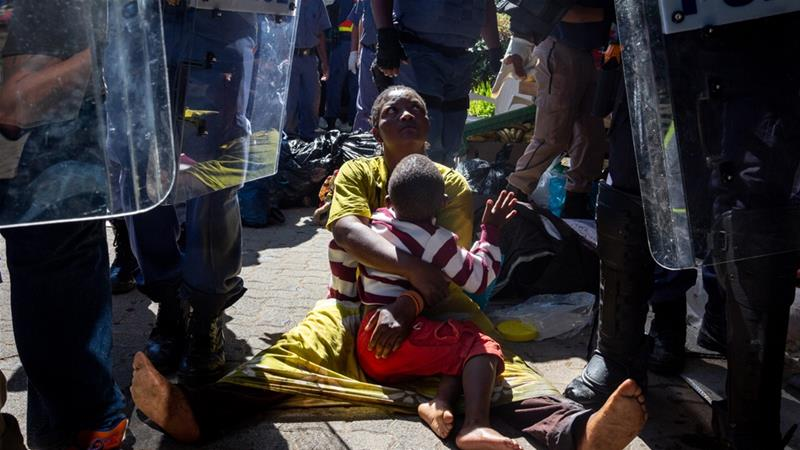 South Africa: Monthlong UNHCR sit-in ends in violent eviction