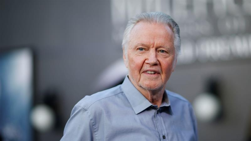 Jon Voight poses before the premiere of Maleficent: Mistress of Evil in Los Angeles [File: Mario Anzuoni/Reuters]