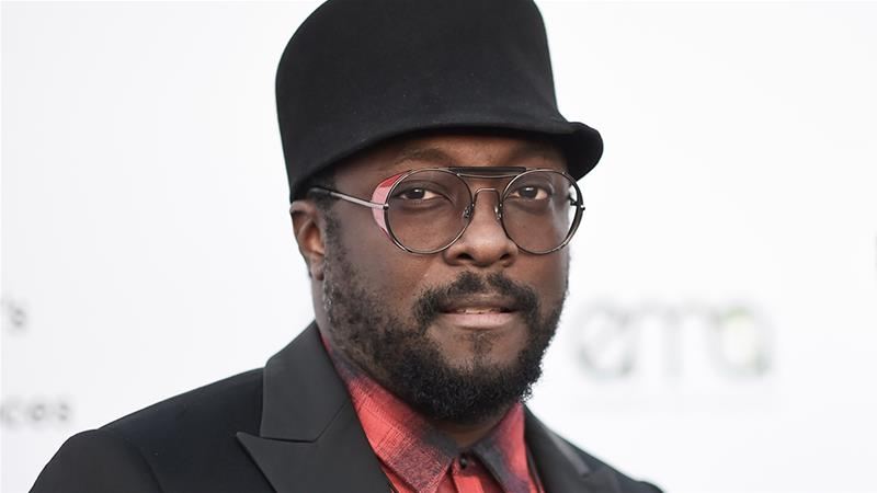 will.i.am attends the 27th Annual EMA Awards at Barker Hangar on Saturday in 2017 [File: Richard Shotwell/Invision/AP Photo]