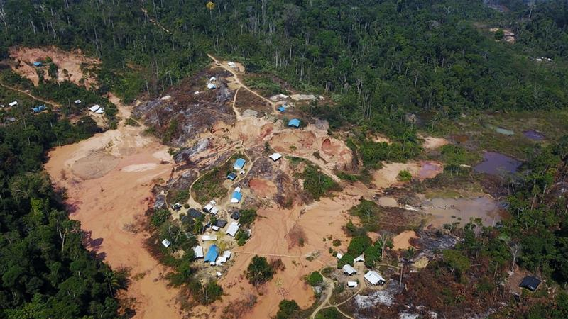 Brazil Amazon deforestation soars to 11-year high under Bolsonaro