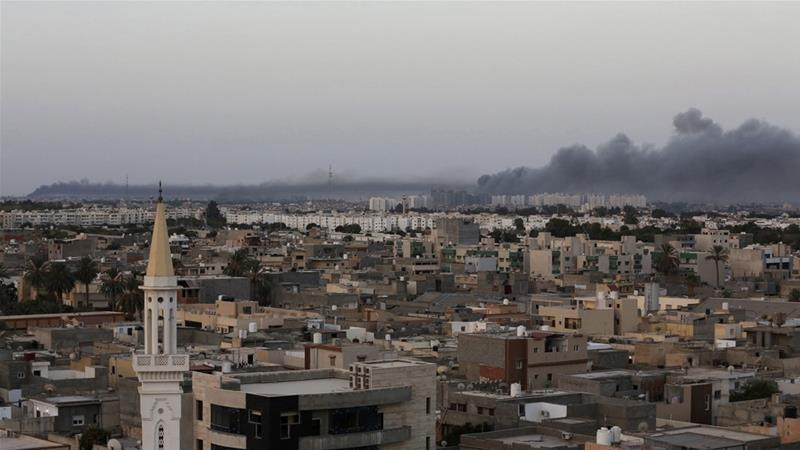Haftar's forces are battling to seize control of the capital, Tripoli [File: Stringer/Reuters]