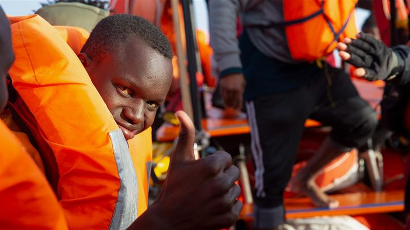 Ocean Viking rescues 94 people off Libya's coast