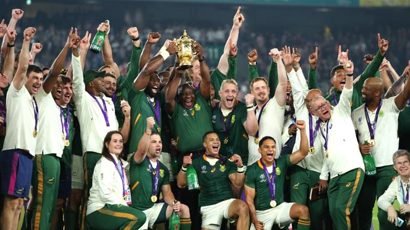 South Africa Beat England To Lift Rugby