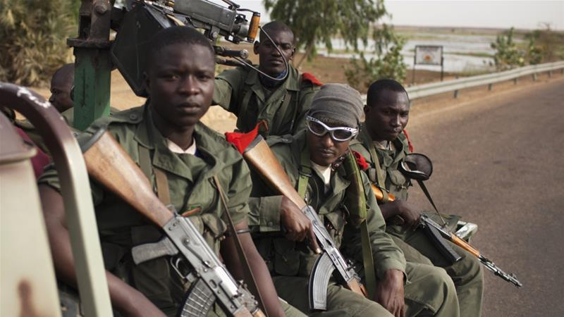 Up to 20 Malian soldiers killed in attack on military base