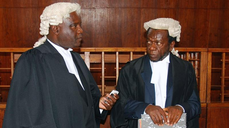 Malawi, a former British colony, still follows the UK legal system, with the wearing of wigs and robes a requirement for judges and lawyers [File: AP]