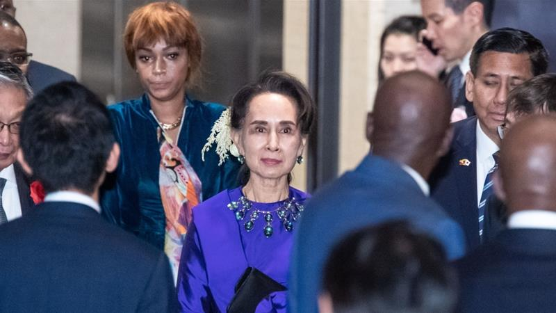 Suu Kyi to 'lead team' to Hague to fight Rohingya genocide case