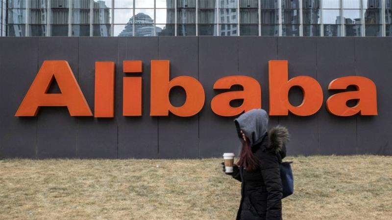 Alibaba could soon attract massive interest from Chinese investors [Gilles Sabri/Bloomberg]