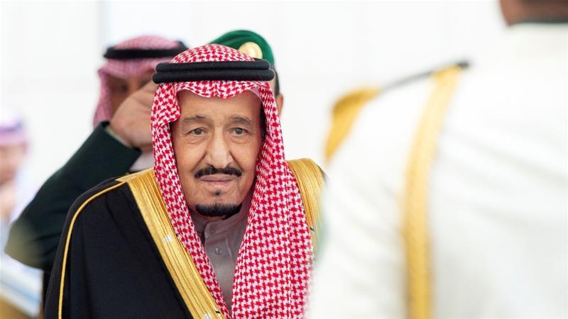Washington and Riyadh blame Tehran for the September attacks [Bandar Algaloud/Saudi Royal Court via Reuters]