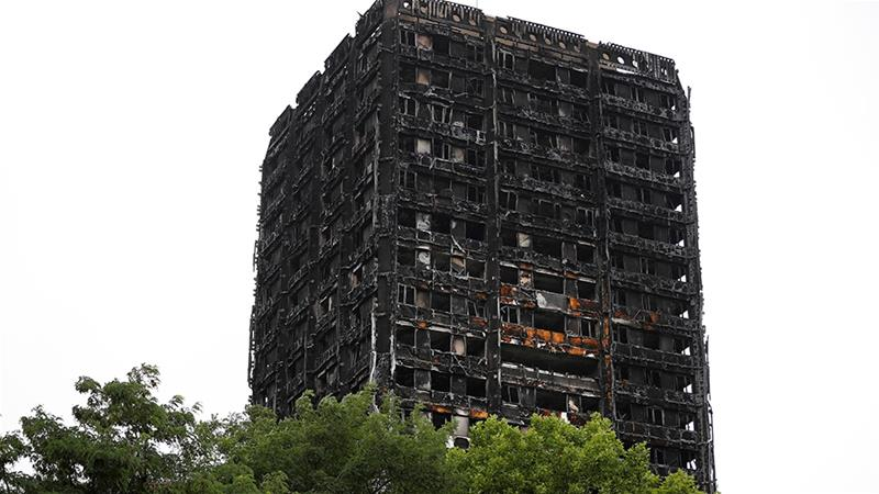 Six dozen people were killed on June 14 2017 in a fire at Grenfell Tower in the west London district of North Kensington [File: Tolga Akmen/Reuters]
