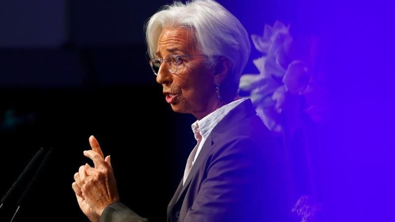 Europe needs to build its own growth, says Lagarde
