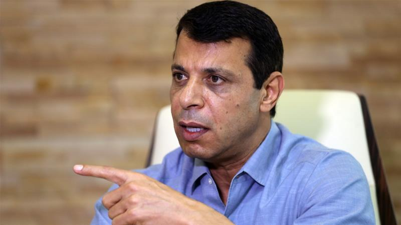 Dahlan has been living in exile in the United Arab Emirates [File: Stringer/AFP]