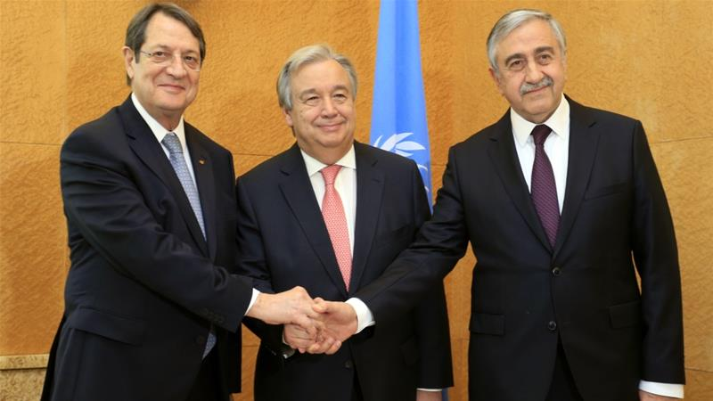 Cypriot leaders in Berlin after UN push to revive peace talks