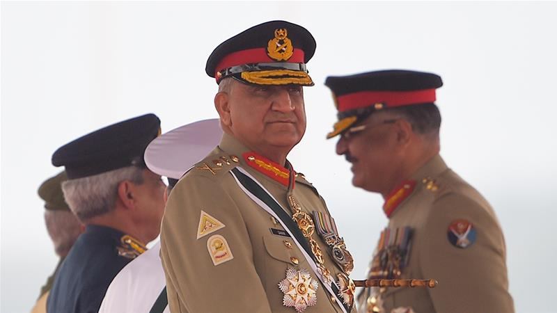 General Qamar Javed Bajwa was handed the extension on August 19 [File: Farooq Naeem/AFP]