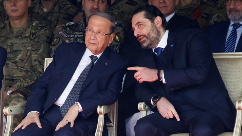 Lebanon's Saad Hariri says he does not want to be next PM