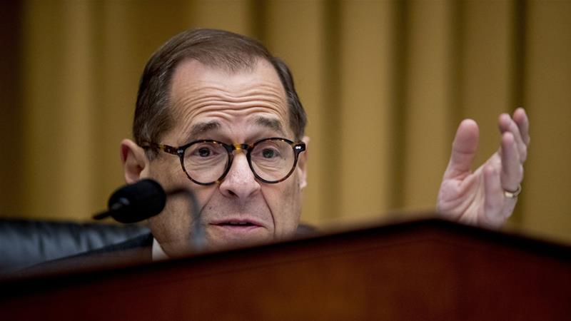 House Judiciary Committee Chairman Jerrold Nadler will examine the framework of impeachable conduct [File: Andrew Harnik/AP]