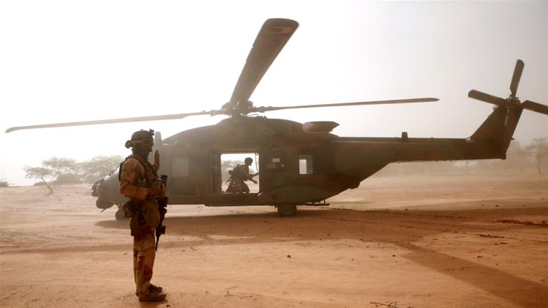 Thirteen French soldiers have been killed in a helicopter crash
