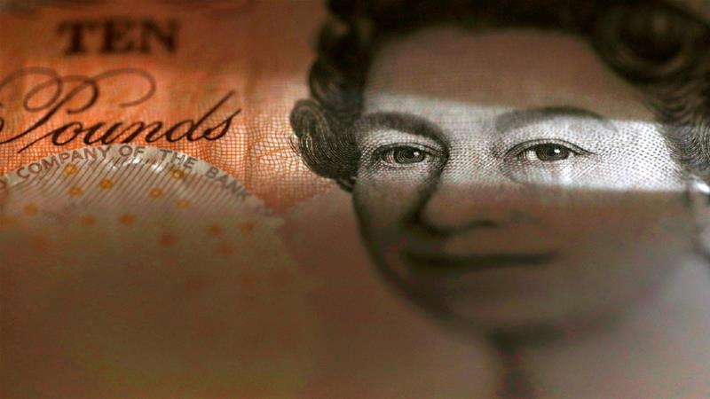 Sterling manufacturer De La Rue said it had debts which exceeded its capitalisation [Phil Noble/Illustration/Reuters]