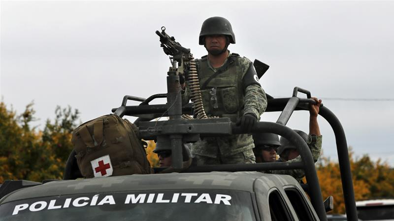 US threats have intensified after a drug cartel ambush killed nine American women and children [Marco Ugarte/AP]