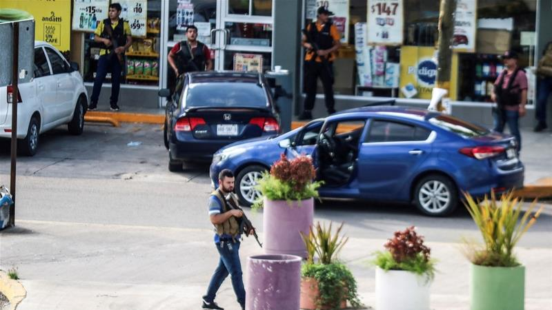 Cartel gunmen clashed with Mexican authorities in October during a failed attempt by the government to arrest Ovidio Guzman, son of jailed drug kingpin Joaquin 'El Chapo' Guzman [File: Reuters]