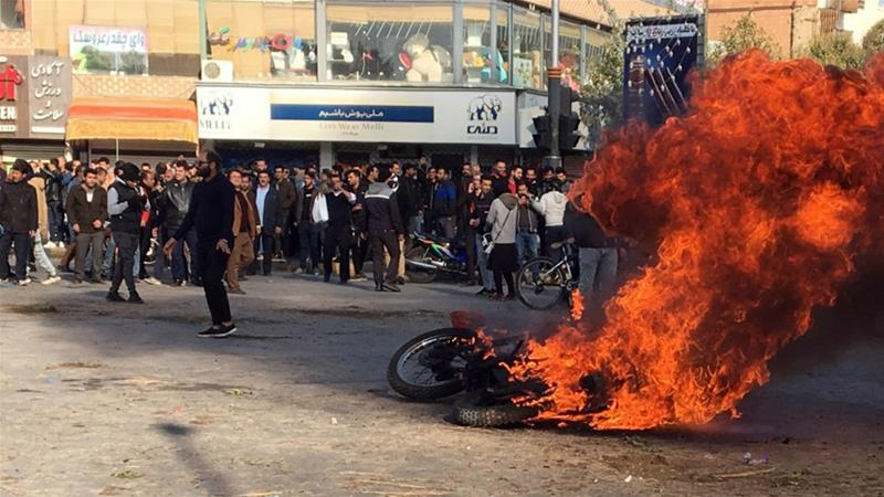 Iran admits killing 'rioters' during gas-price protests