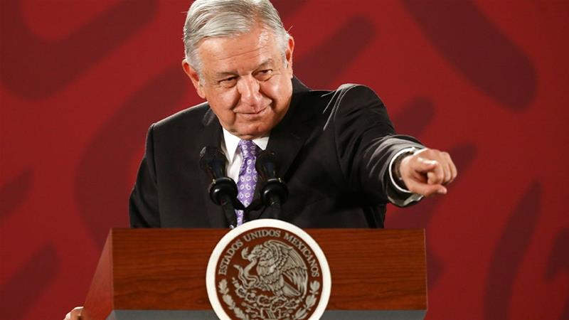 Mexico's President Lopez Obrador took office on December 1, 2018 [File: Edgard Garrido/Reuters]