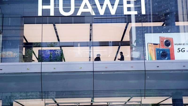 The United States indictment against Huawei also contains new allegations about the company's involvement in countries subject to sanctions, such as Iran and North Korea [File: Aly Song/Reuters]