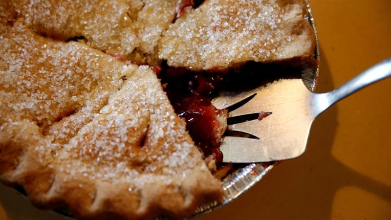 The blind-baked sour cherry pie that changed the writer's life [Hannah Selinger/Al Jazeera]