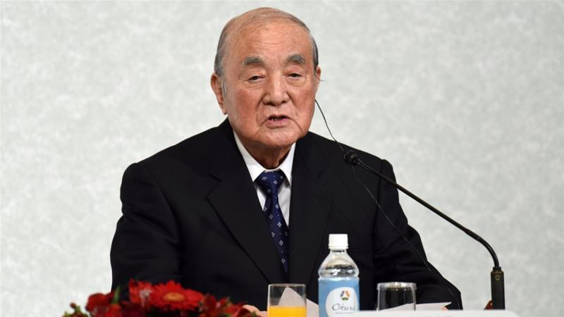 Image result for images of Former Japanese Prime Minister, Yasuhiro Nakasone dies at the age of 101