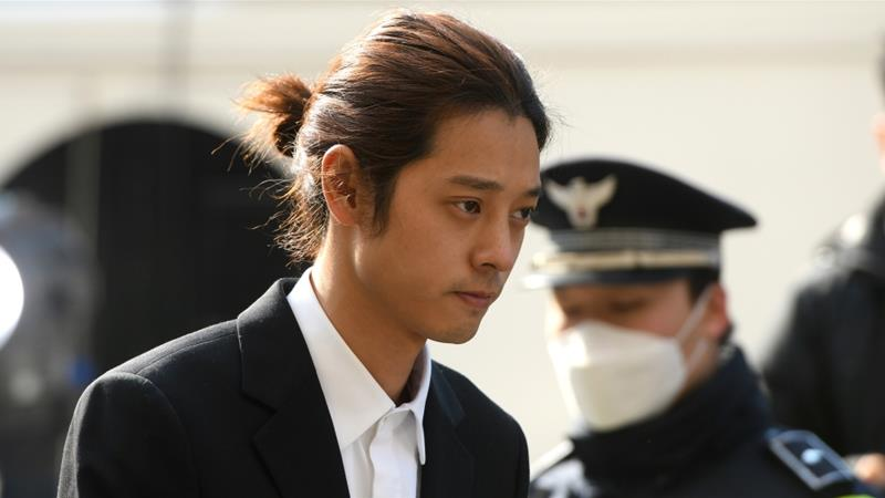 The court also sentenced each man to 80 hours in 'sexual violence treatment' education [Jung Yeon-Je/AFP]