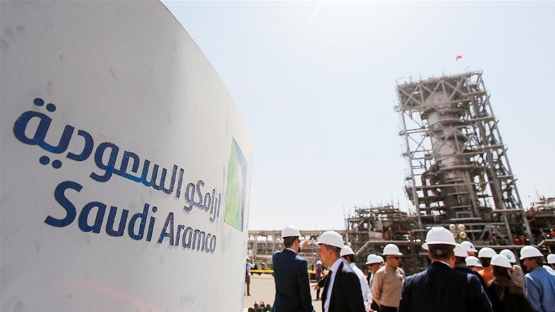 The long-delayed initial public offering of Saudi Arabia's state oil firm Aramco could be the world's biggest ever [File: Shemetov/Reuters]
