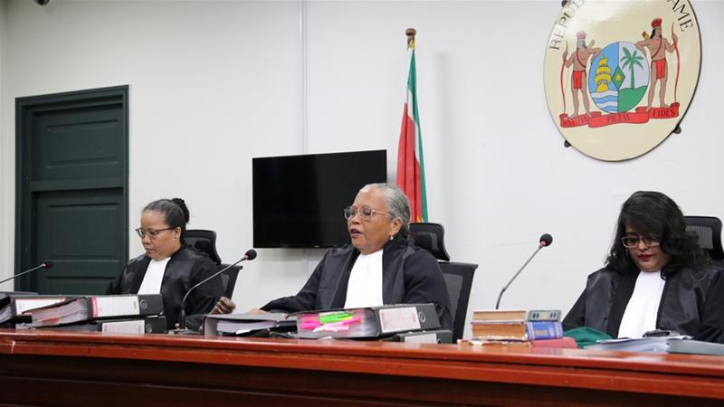 Suriname president convicted of murder