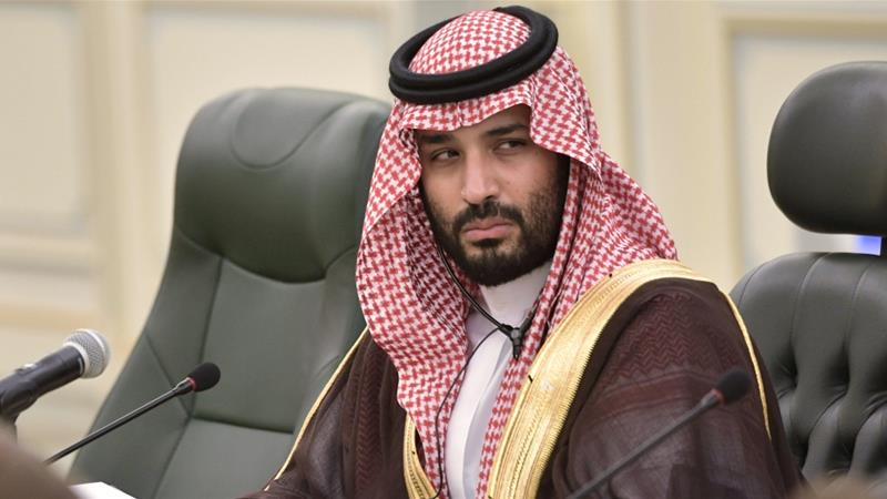 Crown Prince Mohammed bin Salman hailed it as a 'unique opportunity' to shape international consensus [Alexei Nikolsky/Kremlin via Reuters]