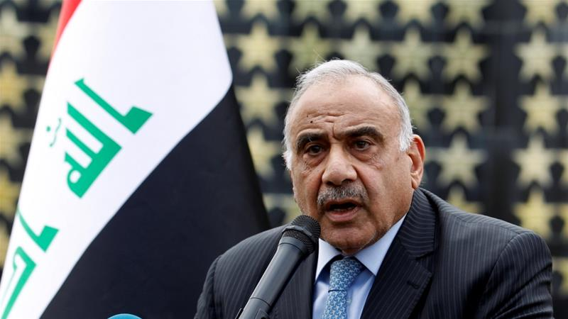 Prime Minister Abdul Mahdi called for markets, factories, schools and universities to reopen after days of protests in the capital and across the mostly Shia south  [File: Khalid al-Mousily/Reuters]