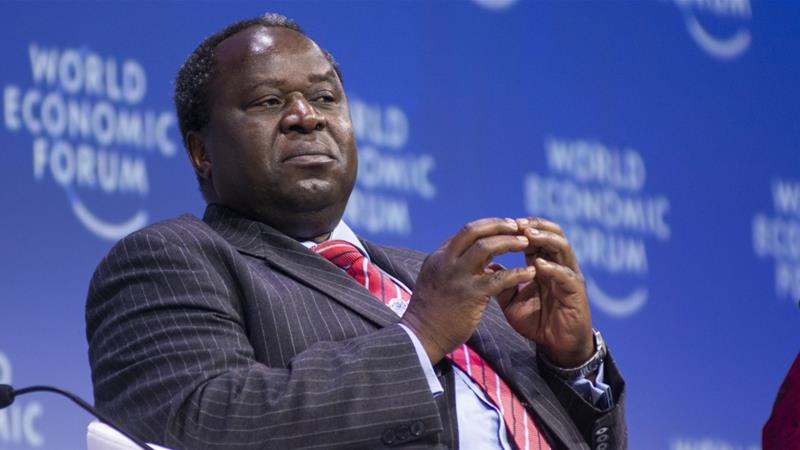 South African Finance Minister Tito Mboweni presented a rapidly deteriorating outlook in his medium-term budget policy statement, with gross government debt seen surging to 80.9 percent of gross domestic product in the 2028 fiscal year unless urgent action is taken [Bloomberg]