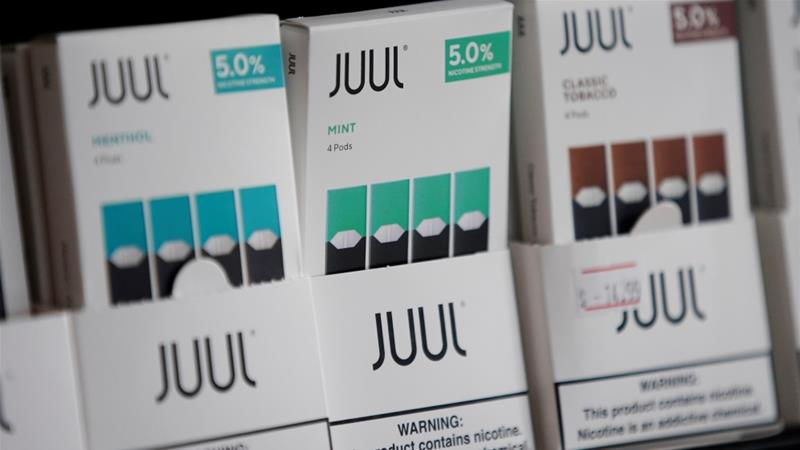 New research in the US shows that mint is the most popular flavour among 10th and 12th graders, and the second-most popular flavour among eighth graders [Elijah Nouvelage/Reuters]