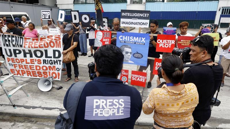 According to a recent report by the Committee to Protect Journalists, the Philippines has the most unsolved journalist killing cases in the world [File: Rolex dela Pena/EPA]