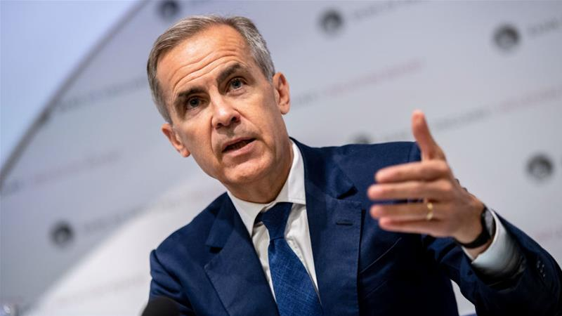 Mark Carney said he did not think a recession was imminent in the UK [File photo: Chris J Ratcliffe/Pool/Reuters]