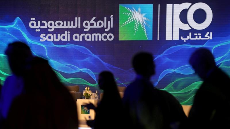 Saudi Aramco's profit is equal to the combined net incomes of ExxonMobil, Apple and Alphabet - Google's parent company [Hamad I Mohammed/Reuters]