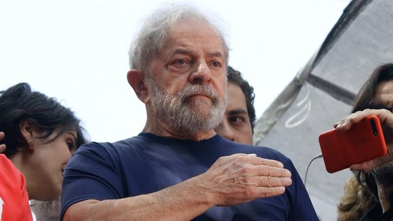 Lula's lawyers said they would seek his immediate release by the lower court that convicted him [File:Getty Images]